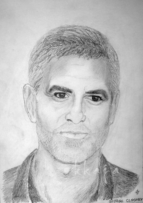George Clooney by kkaja